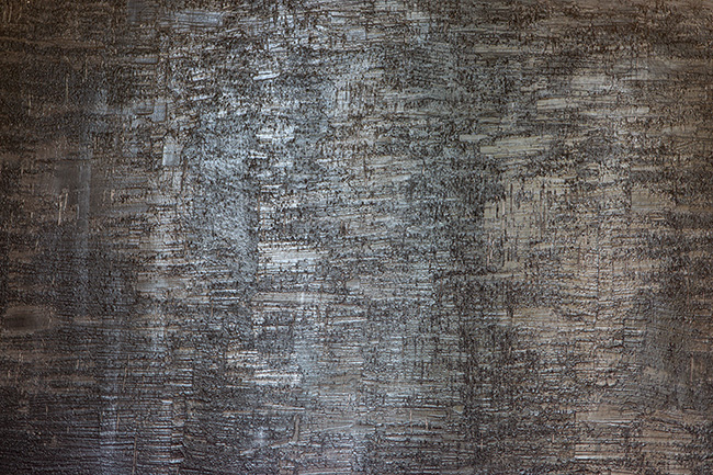 Tête de lit béton ciré