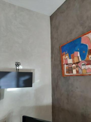 Béton ciré mural