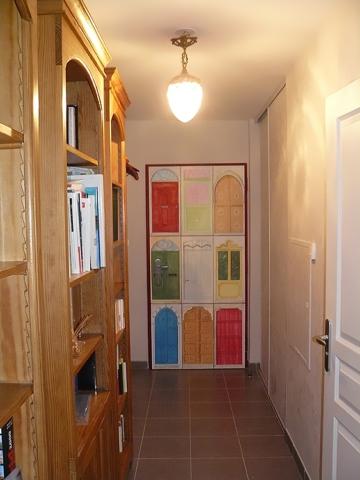 Décor peint porte