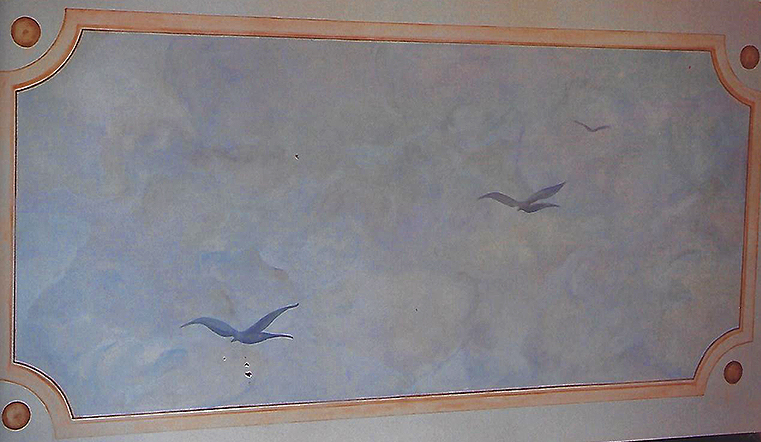 Décor peint mural