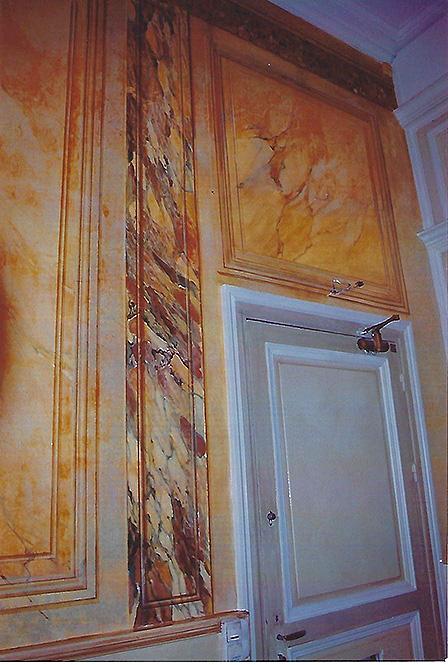 Faux marbre artisan
