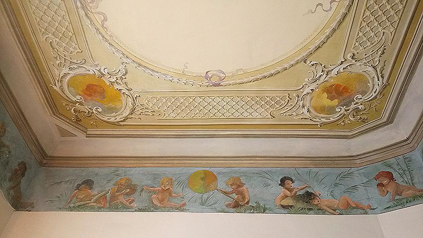 Restauration fresque