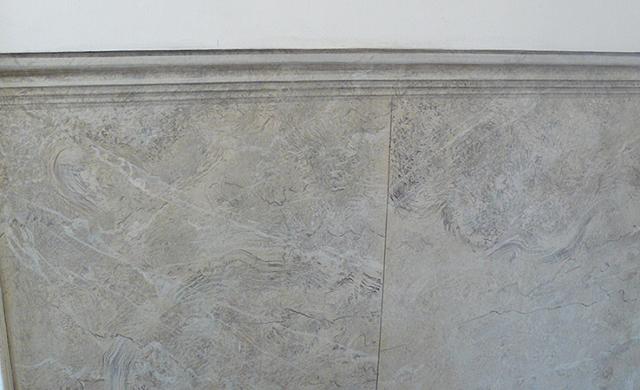 faux marbre sur mur