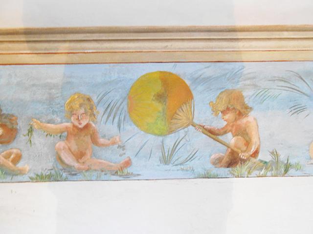 Restauration décor peint